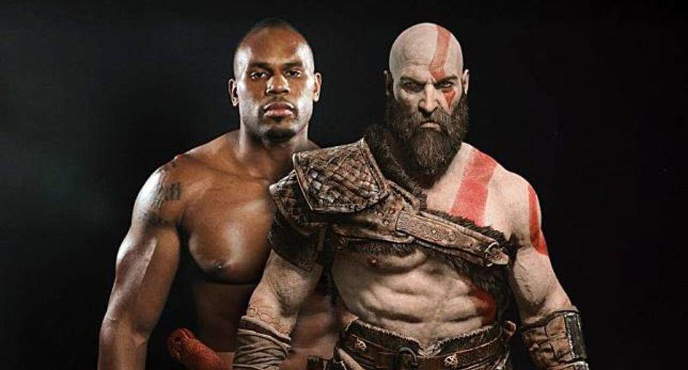 Shad Gaspard y los dos icónicos personajes de videojuegos que representó (Foto: Montaje)