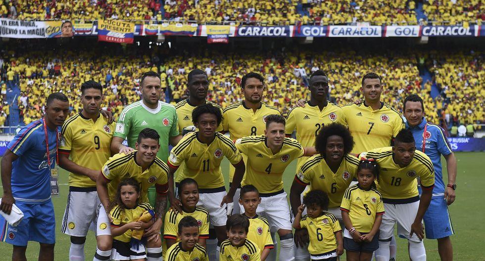 10. Colombia - 1191 puntos (Foto: Agencias)
