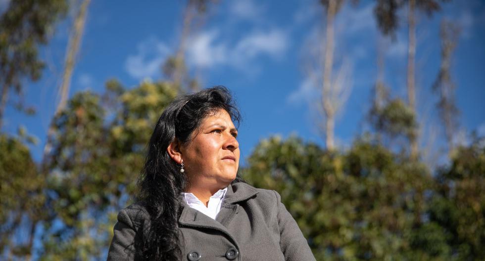 La primera Dama de la Nación Lilia Paredes (Foto: Andina)
