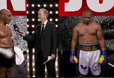 ¡Empate! Mike Tyson y Roy Jones Jr. igualaron en ocho asaltos en duelo de exhibición