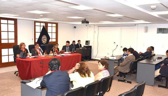 Poder Judicial aclara que Lupe Zevallos no estuvo en audiencia de lectura de sentencia (Foto: Poder Judicial)