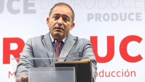 Daniel Córdova, ministro de la Producción