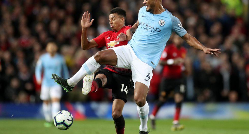 Manchester United vs. Manchester City: mira las mejores imágenes del derbi por la Premier League. (Foto: Reuters)