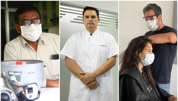 Después de poco más de 70 días, Julio Yataco, Sebastián Caravedo y Daniel Lugo han retomado sus operaciones esta semana.