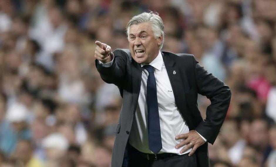 """Carlo Ancelotti: """"Di María no jugó porque no lo necesitaba"""""""