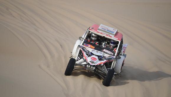 Dakar 2019: Alexis no completó la etapa pero se reenganchará. (Foto: Christian Cruz)