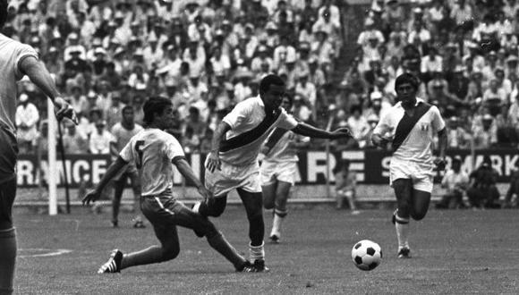 Cubillas marcó un tanto aquella tarde. Tras el mundial, Pelé lo alabó. (Foto: Archivo Histórico El Comercio)