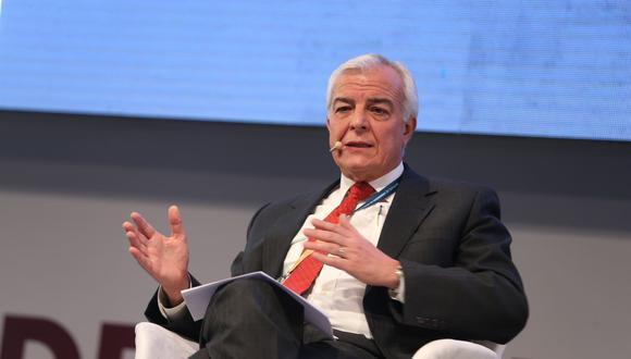 Carlos Gálvez, presidente del Comité organizador de Perumin (Foto: Andina)