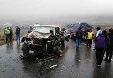 Apurímac: triple choque deja 1 muerto y 4 heridos en la ruta Abancay - Andahuaylas