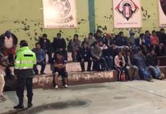 Apurímac: detienen a 50 personas que bebían licor y jugaban en la calle
