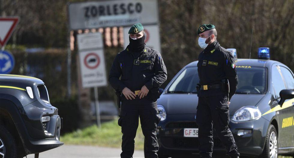 Hasta el momento, Protección civil de Italia confirmó que se han registrado 374 casos y 12 muertes en el país europeo. (AFP).