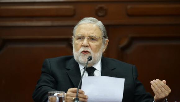Blume no dio una fecha definida para conocerse la decisión del TC sobre el caso de Keiko Fujimori. (Foto: Jesús Saucedo / GEC)
