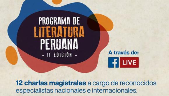 El programa busca contribuir a la formación de la ciudadanía y dar a conocer la tradición literaria nacional (Foto: BNP)
