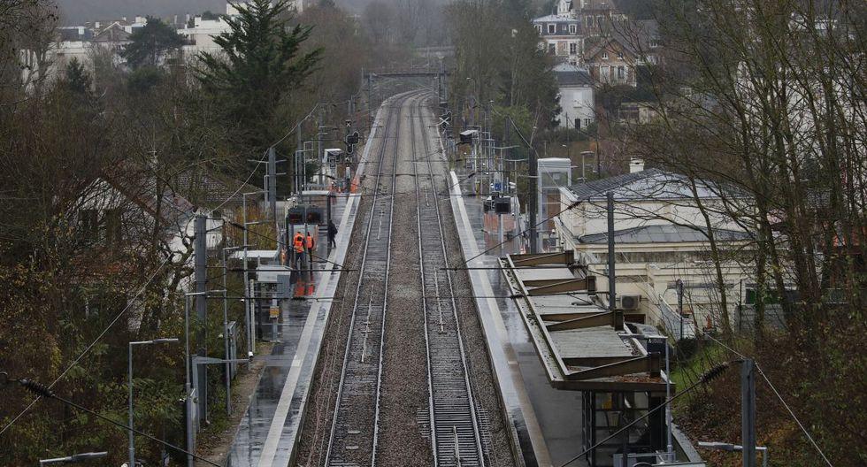 Huelga en Francia: Octavo día de manifestaciones paralizan los trenes. (Foto: AP)