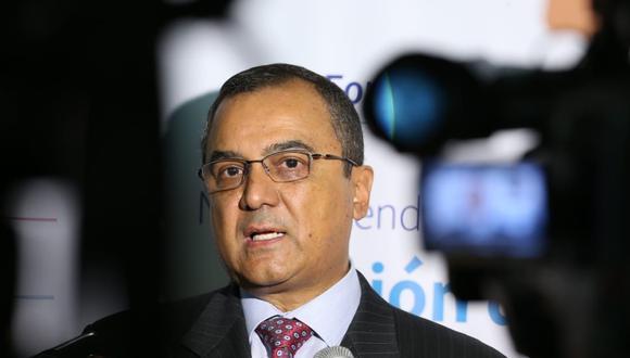 Carlos Oliva, exministro de Economía. (Foto: Manuel Melgar /  GEC)