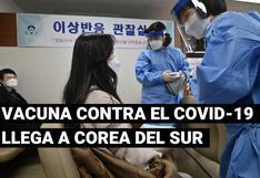 Corea del Sur inicia su campaña de vacunación contra la COVID-19