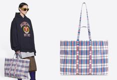 Era una sencilla 'bolsa de mercado' y hoy Balenciaga la puso de moda y cuesta 2 mil dólares