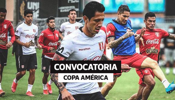 Conoce la lista de convocados de la selección peruana para la Copa América 2021. (Diseño: El Comercio)