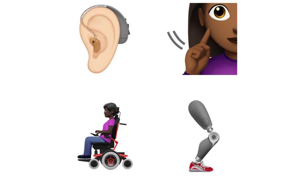 Aquí te dejamos algunos de los nuevos diseños que estarán disponible en Google y Apple. (Foto: Unicode)