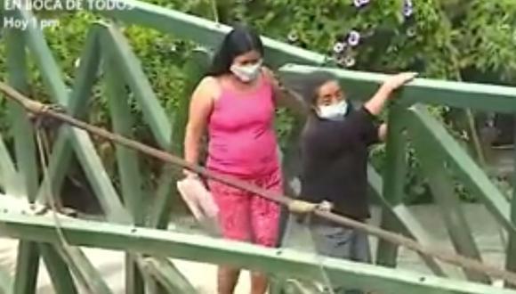 La Policía Nacional no identifica al representante legal de la empresa propietaria del camión. (Foto: Captura América Noticias)