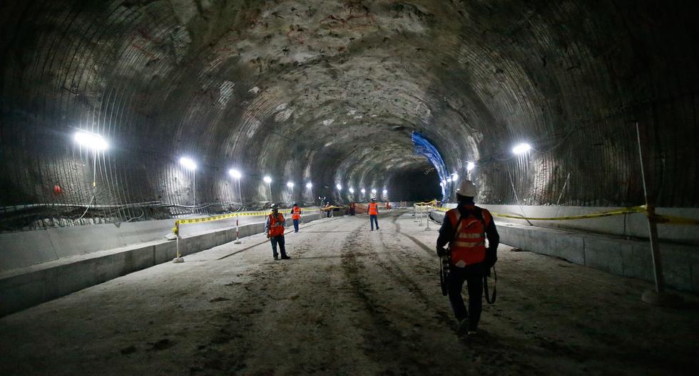 Túnel Santa Rosa: obras están avanzadas en un 50% [FOTOS] - 2