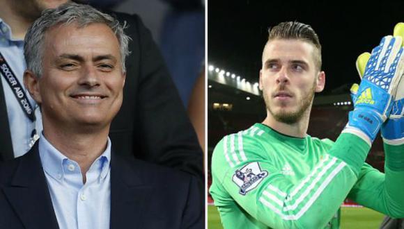 """David de Gea: """"El United necesitaba un técnico como Mourinho"""""""