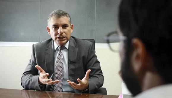 Rafael Vela, coordinador del equipo especial Lava Jato, consideró que la decisión de la JNJ sobre Tomás Gálvez es la que corresponde. (Foto: Juan Ponce/ GEC)