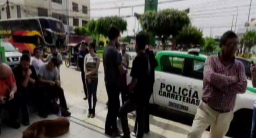 Los pasajeros afectados denunciaron el hecho ocurrido esta madrugada en la comisaría de Paramonga, en Lima.