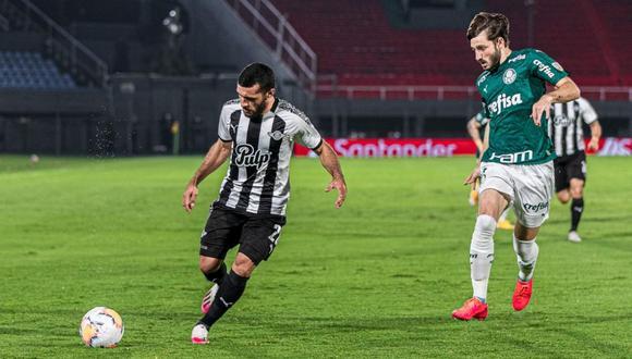 Libertad vs. Palmeiras se enfrentan por los cuartos de final de la Copa Libertadores 2020 (Foto: Twitter @Libertad_Guma)