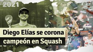 Diego Elías campeón de Squash: así fue el triunfo del peruano