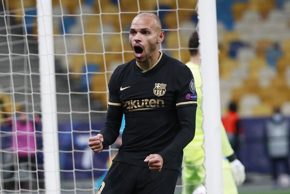 Barcelona venció al Dinamo Kiev por la Champions League