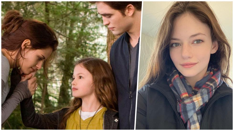 """La actriz Mackenzie Foy dio vida a 'Renesmee' en la película """"Amanecer"""", la última de la saga """"Crepúsculo"""". (Foto: Lions Gate Entertainment/@mackenziefoy)"""