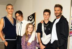 Victoria Beckham presentó su nueva colección en la Semana de la Moda de Londres