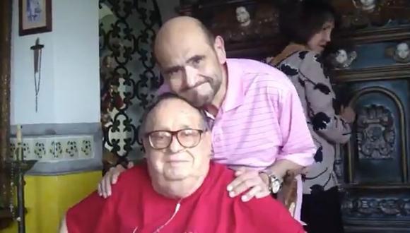 Edgar Vivar recordó a Roberto Gómez Bolaños a seis años de su muerte. (Foto: Captura de video)