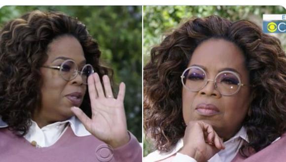 Este meme hecho con dos tomas de Oprah Winfrey terminó agregando una nueva categoría para películas en Netflix. (Foto: captura de Twitter)