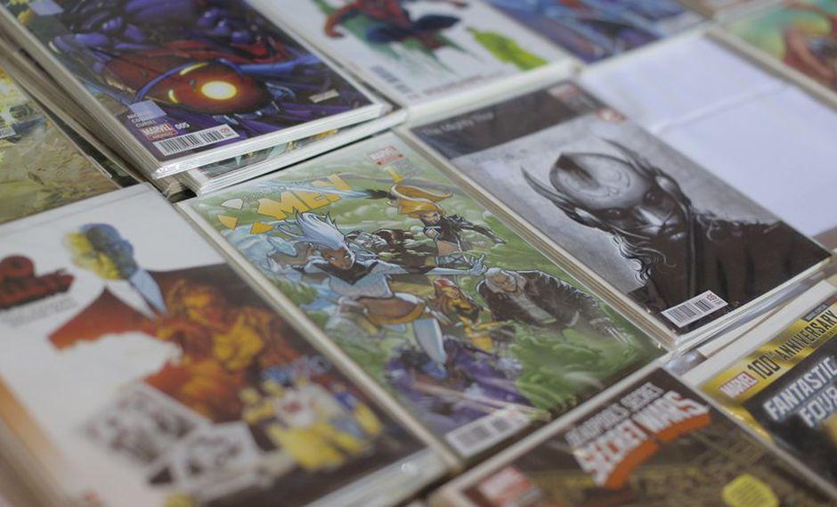 Día del cómic gratis. (Foto referencial: Luis Centurión/ USI)