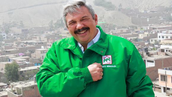 Alberto Beingolea señala que impulsarán la minería sin contaminación para generar empleo. (Archivo personal)
