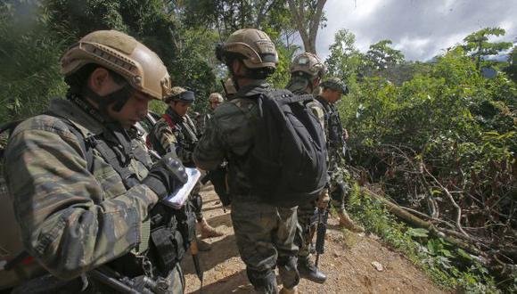 Miembros de Ejército Peruano murieron esta tarde tras dos enfrentamientos con subversivos en el distrito de Vizcatán del Ene (Foto: referencial)