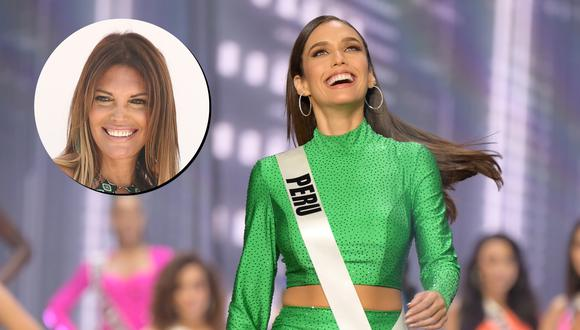 Jessica Newton a Janick Maceta tras el Miss Universo 2021. (Fotos: Karina Mendoza para El Comercio/ BENJAMIN ASKINAS para Miss Universo).
