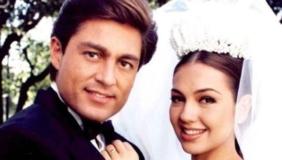 """Thalia y Fernando Colunga fueron los protagonistas de """"María, la del barrio"""" (Foto: Televisa)"""