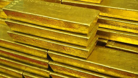 Los futuros del oro estadounidense avanzaban un 0,7% a US$1.814,30 la onza. (Foto: AFP)