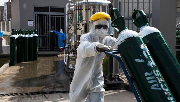 El Pleno del Congreso debatirá un proyecto de ley que propone expropiar todas las plantas y balones de oxígeno medicinal pertenecientes a productores y distribuidores de este medicamento.