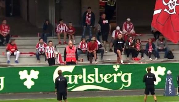 Insólito: Final de la Copa de Dinamarca fue detenida debido a que los hinchas no respetaron el distanciamiento