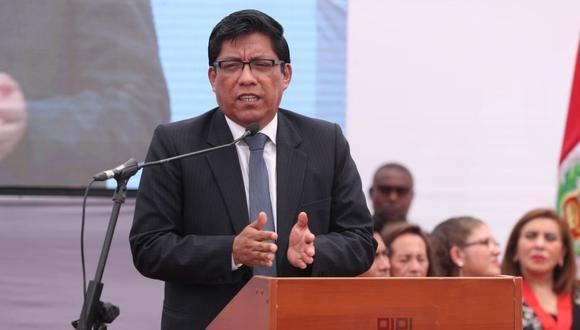 Vicente Zeballos dijo que espera las explicaciones de Francisco Petrozzi sobre Hugo Coya. (PCM)