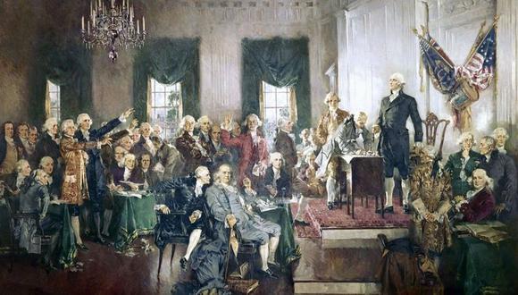 La Convención Constitucional de Filadelfia no logró un acuerdo sobre cómo debería elegirse al presidente de EE.UU. (Getty)