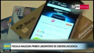 Ministerio Público inaugura el primer laboratorio de ciberdelincuencia