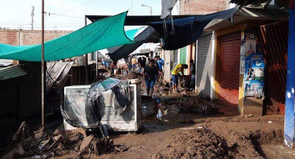 El último viernes se registraron intensas lluvias en la ciudad de Tacna, ubicado en la provincia y región del mismo nombre, generando huaicos. Hasta el momento hay cuatro muertos. (Foto: GEC)