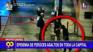Pese al toque de queda la delincuencia aumenta en Lima