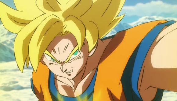 """""""Dragon Ball Super: Broly"""" llega pronto a los cines de todo el continente. Foto: Difusión."""