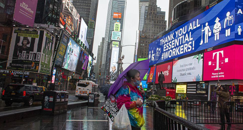 Coronavirus: el estado de Nueva York autoriza reuniones de hasta 10 personas. (Foto: Kena Betancur / Agence France-Presse / AFP).